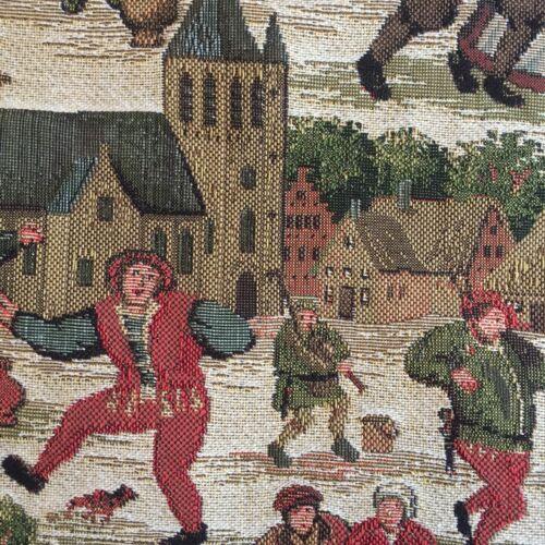 x tapiz los La de 10215 escena compras Breughel belga grande asas los las de de bolsa 46cm del 46cm qOrq1w87