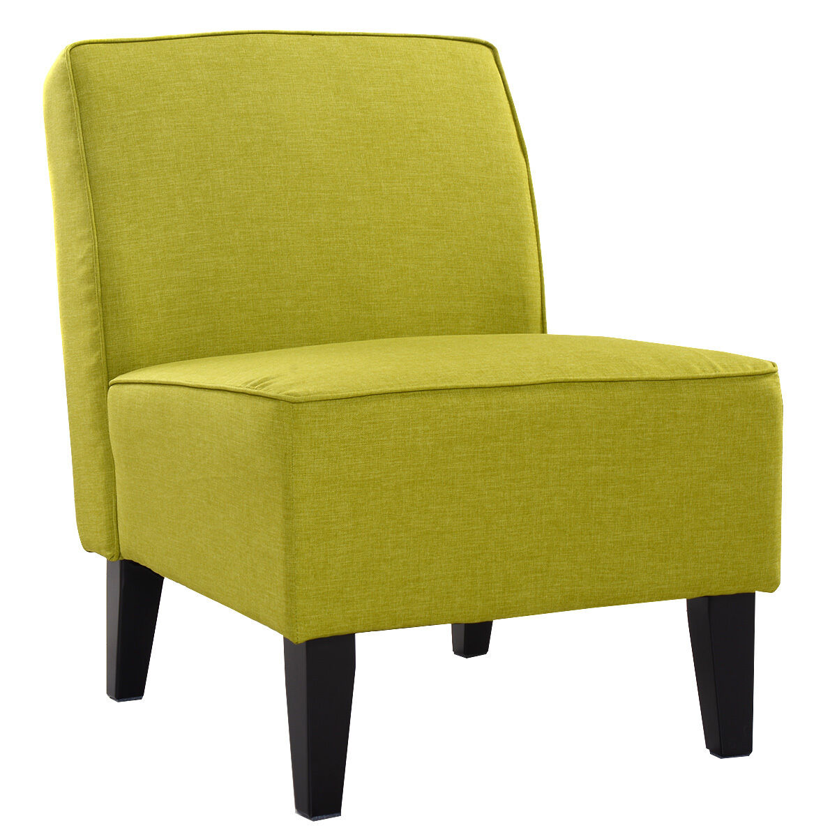 details about deco accent chair solid armless living room bedroom