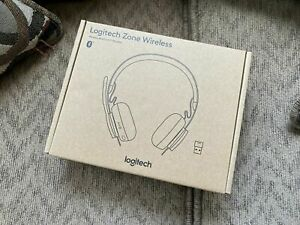 New Logitech Zone Wireless Bluetooth Headset Ebay
