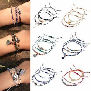 3pcs-Boho-Crystal-Beads-Adjustable-Bracelets-Set-Women-Summer-Holiday-Jewellery