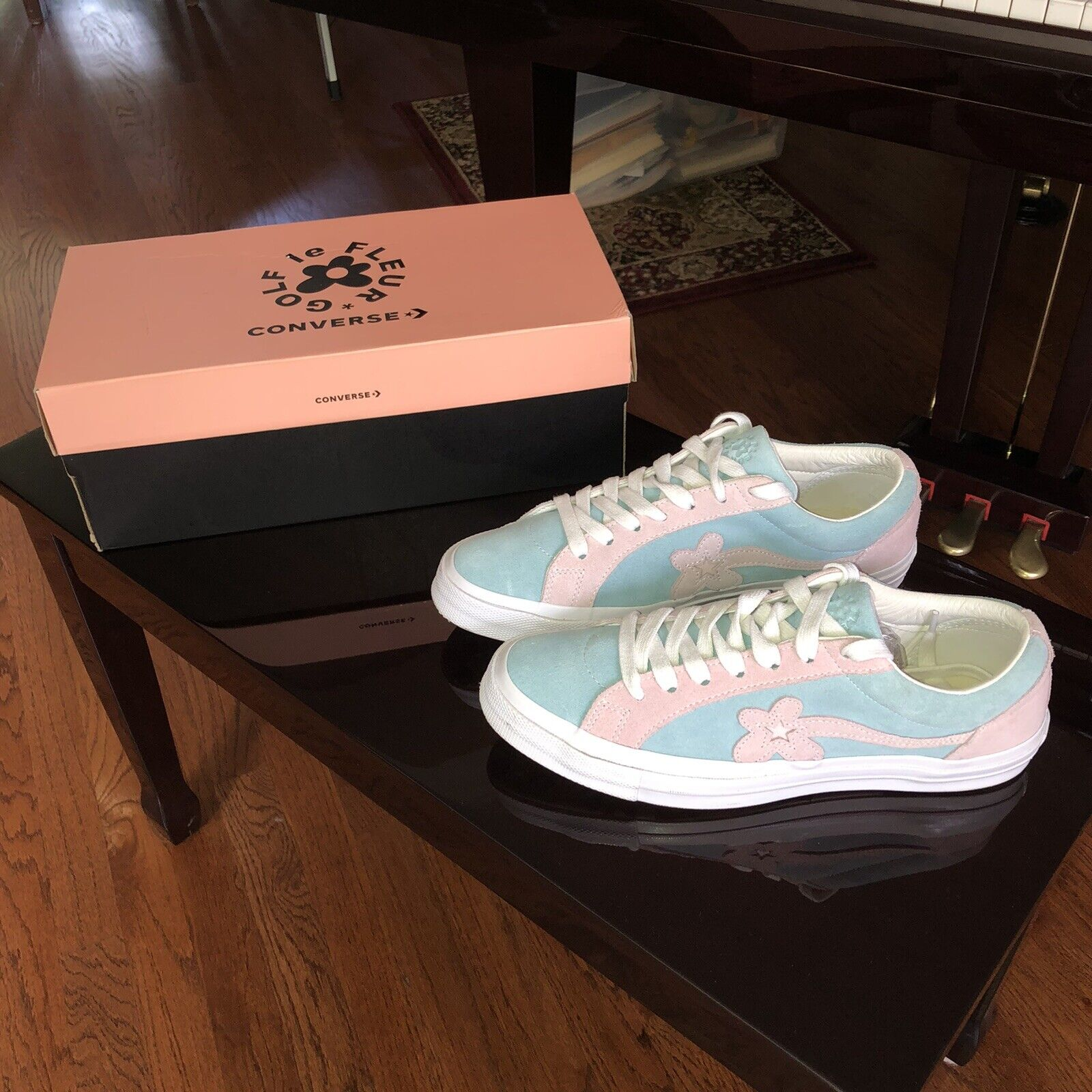 Golfwang X Converse Golf Le Fleur Shoes Tyler The Creator Of Odd Future Supreme For Sale Online Ebay