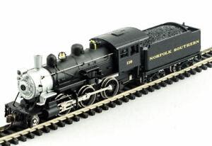MODEL-POWER-876501-N-SCALE-Norfolk-Southern-2-6-0-Mogul-w-DCC-SOUND-NEW