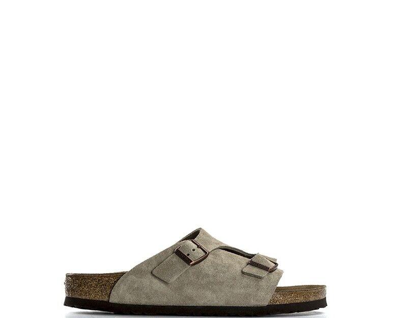 Scarpe  di scarpe BIRKESSTOCK Man Slippers TAUPE 050463  prezzi più convenienti
