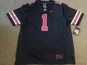 350b68313 REAL Nike Ohio State OSU Buckeyes Limited+Plus Icon Black Out Dark ...