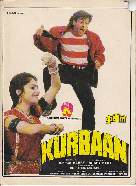 KURBAAN  SALMAN KHAN, AYESHA JULKA  PRESS BOOK BOLLYWOOD