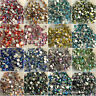1bag color AB Flatback crystal Rhinestone gem Non Hotfix Nail Art Decoration DIY