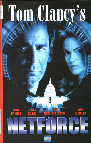 NETFORCE (1990) VHS Eagle    Tom CLANCY'S