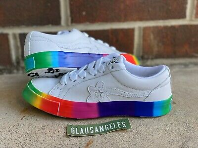 Converse Golf Le Fleur One Star Ox Rainbow Pride 8 5 9 Tyler The Creator Ebay