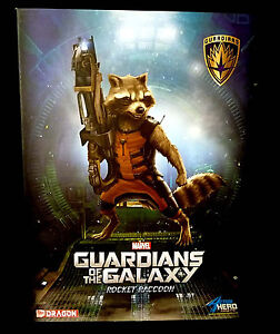 Details about Dragon Guardians of the Galaxy Rocket Raccoon Deluxe Painted  AHV Figure 2014