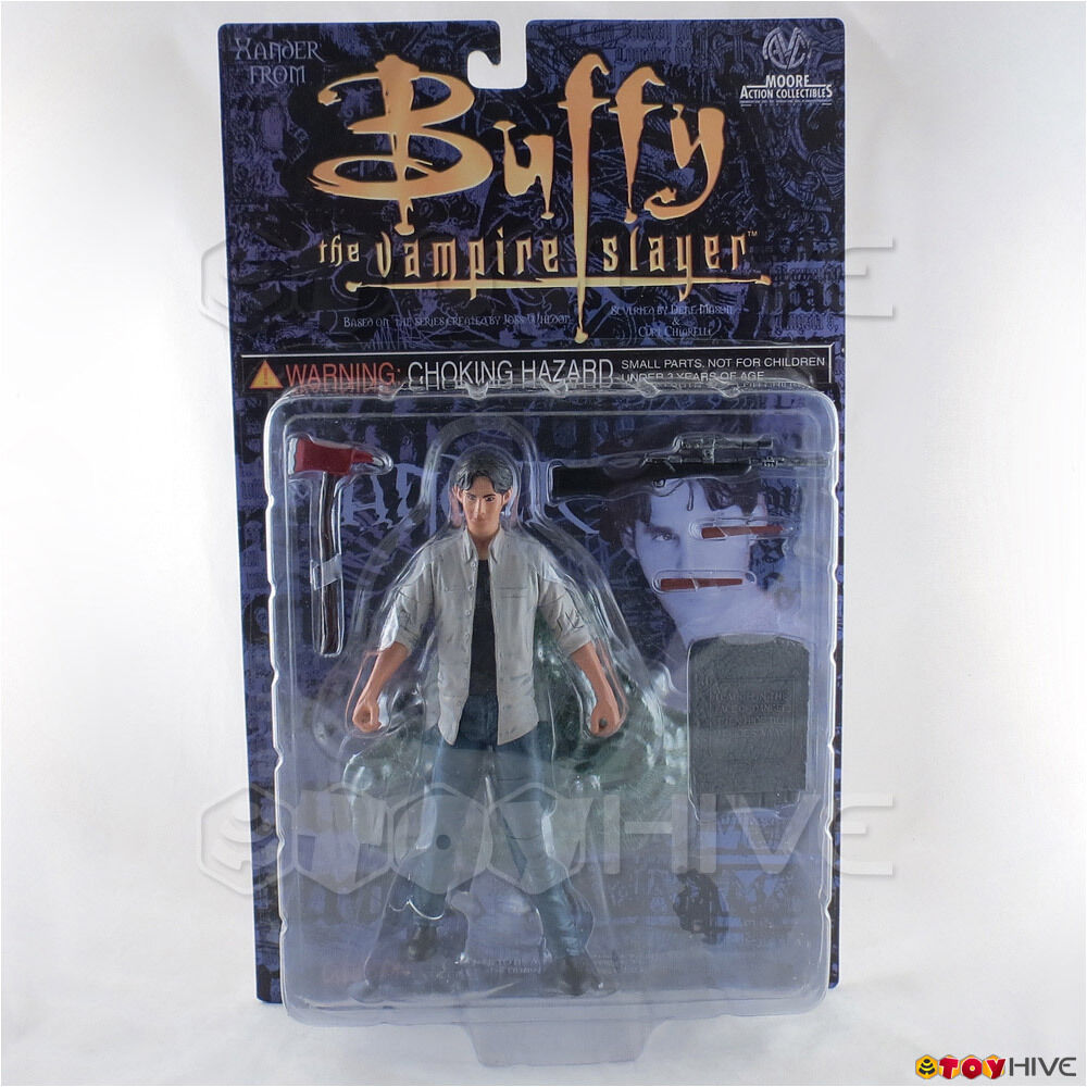 Buffy the vampire slayer xander actionfigur moore aktion collectibles btvs