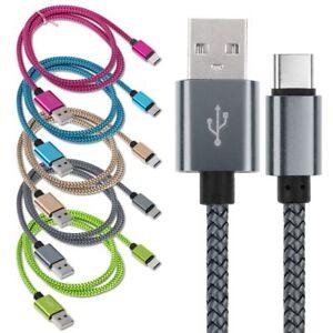 Intrecciato-Cavo-DATI-Cavetto-Type-C-USB-per-Samsung-S8-Plus-CARICA-Sincronizza