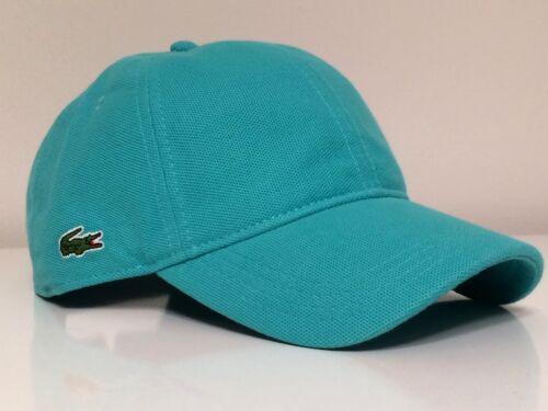 Lacoste 2015 Roddick Side Croc Mesh Fabric Cap Hat $55 NWT Light Green