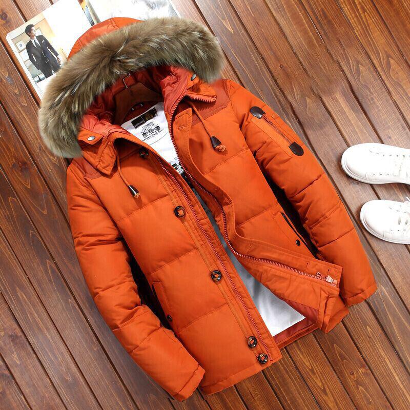 Fur Hooded-Orange
