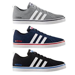 95c6f918695a3c adidas Neo Pace Plus Herren Freizeitschuhe Sneaker grau blau schwarz ...