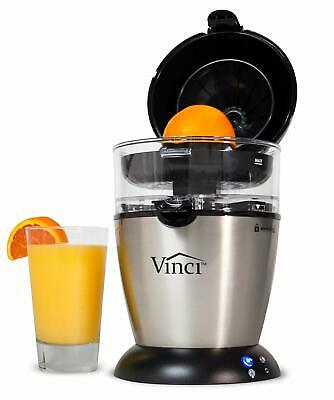 Vinci Electric Citrus Juicer   Automatic Powered Fresh Juice Squeezer Stainless   eBay