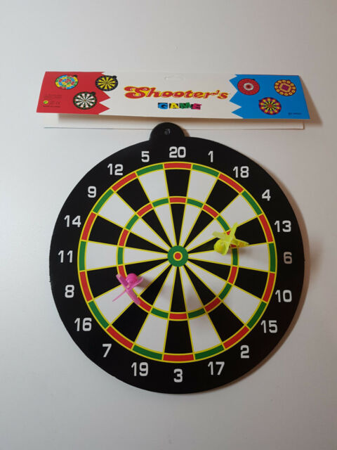 Magnetic Dartboard With 2 Darts A Safe Dart Board Game For Kids