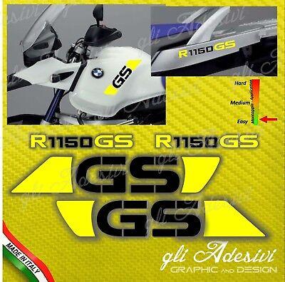 ADESIVI LATI SERBATOIO ROSSO PER BMW R 1150 GS//ADVENTURE 2002-2003