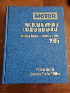1986 Motor Vacuum & Wiring Diagram Manual American Motors ...