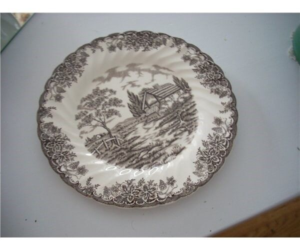 Porcelæn, tallerken, Myott