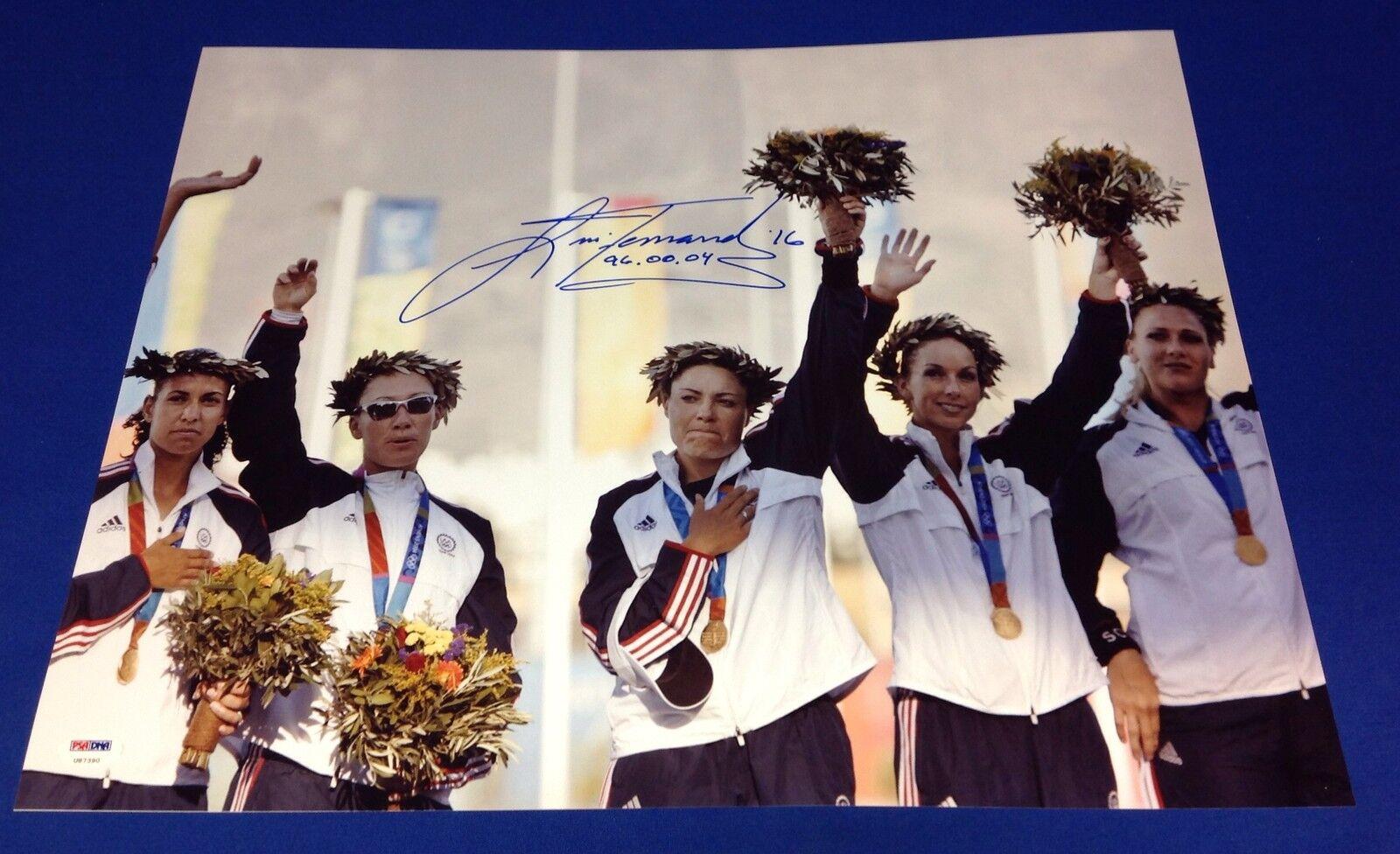 Lisa Fernandez Women Olympic Softball Team 16x20 Photo PSA/DNA #U87390