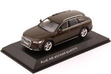 1:43 Audi A6 allroad quattro C7 2012 java-braun brown - Dealer-Edition - OEM