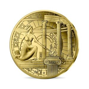50 euro France 2020 or BE 1/4 oz - Olympie