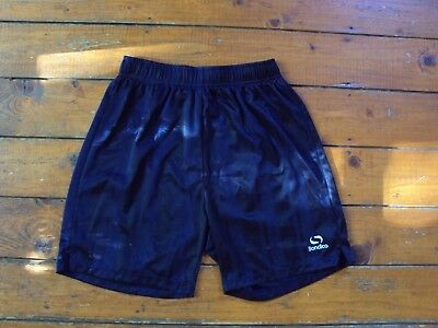 Black Sondico Sports Football Shorts Adult Size Xs