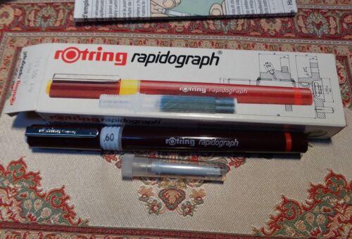 rotring rapidograph 0,6