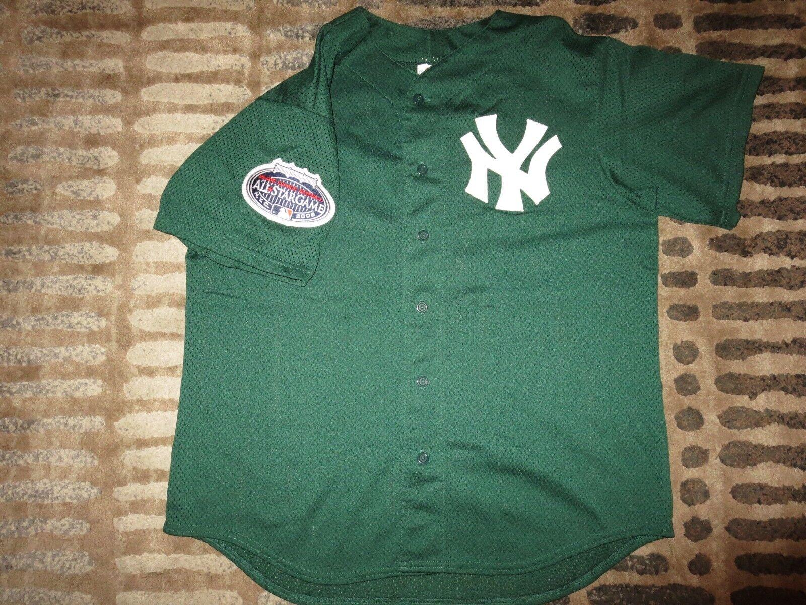 New York Yankees 2008 2008 Yankees MLB All Star Spiel Majestic Trikot L L edce87