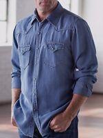 - Ryan Michael Silk Linen A1441sf Pick Stitch Long-sleeve Shirt (ocean) - L