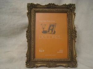 Vintage Ornate Picture Frame Easel Back Photo Photograph Stand