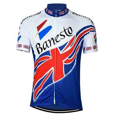 Banesto Spanish Retro Cycling Jersey