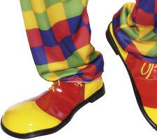 Pippo Jumbo Clown Schuhe rot-gelb NEU - Zubehör Accessoire Karneval Fasching
