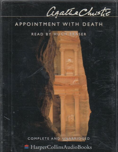 Appointment with Death Agatha Christie 4 Cassette Audio Book Poirot Unabridged