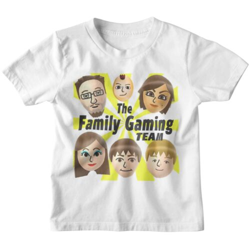 Fgteev FACCE Kids T Shirt 3-12 anni T-shirt Gioventù YouTube Famiglia Gioco Duddy fgtv