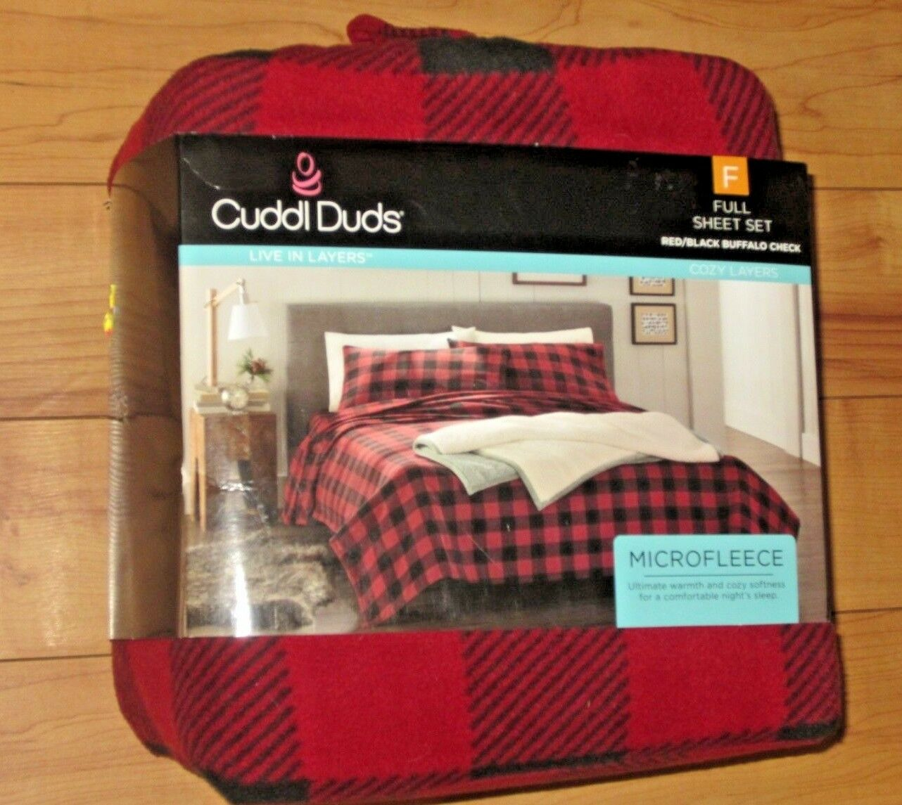 NWT CUDDL DUDS Microfleece Live in Layers Cozy Layers Sheet Sets