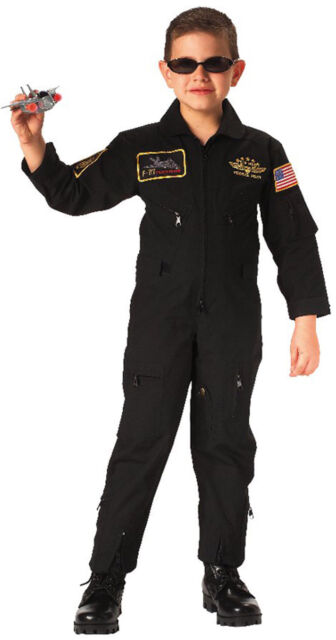 Rothco Kids Aviator Flight Coverall Large Black
