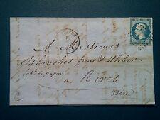 L298. ANCIENNE LETTRE 1861. VOIRON RIVES