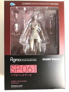 Details about Free Shipping from Japan Authentic Figma FREEing Silent Hill  2 Bubble Head Nurse