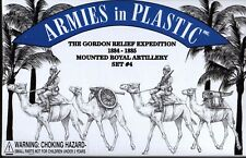 Armies in Plastic 1//32  Gordon Relief Expedition 1884 Mtd Royal Artillery Set#4