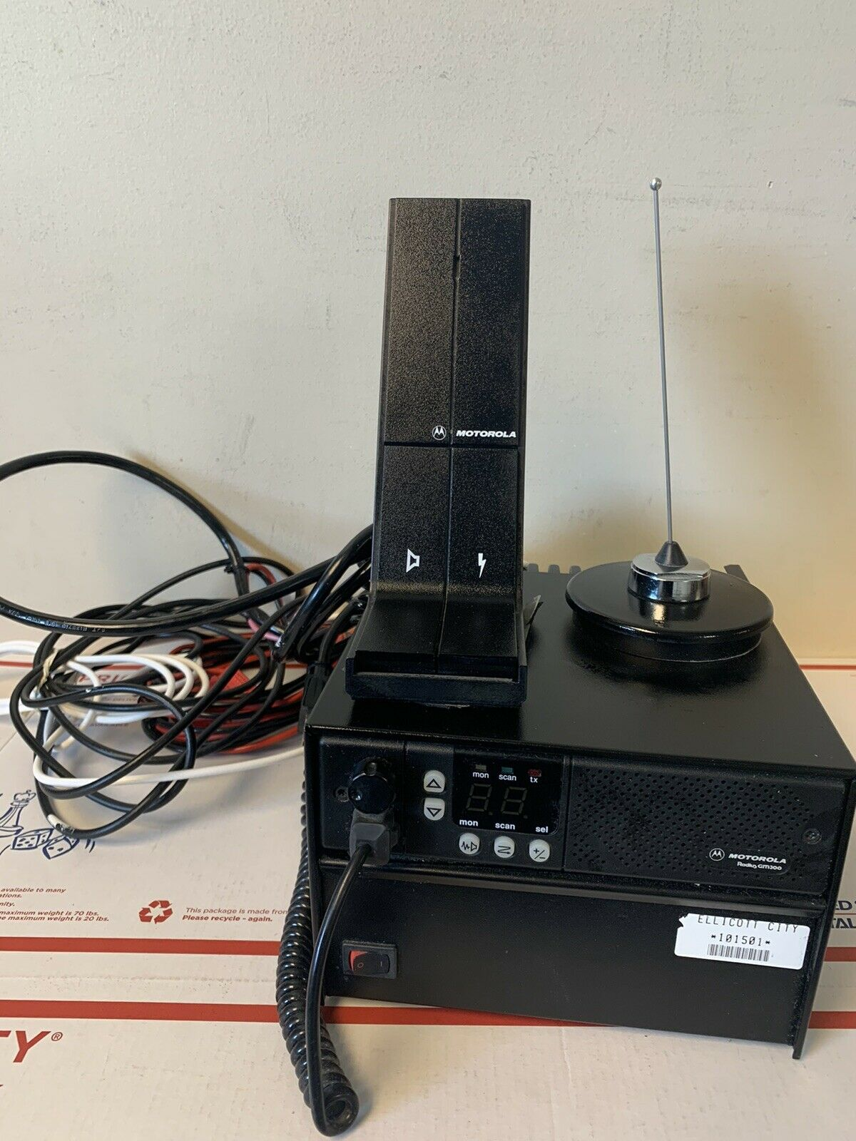 Motorola Radio Base Station Motorola GM300 Radio  w/Power supply and Accessories. Buy it now for 269.95