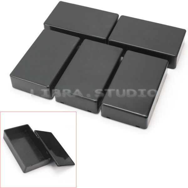 5x Practical Plastic Enclosure Electronic Project Box Instrument Case 100x60x25m