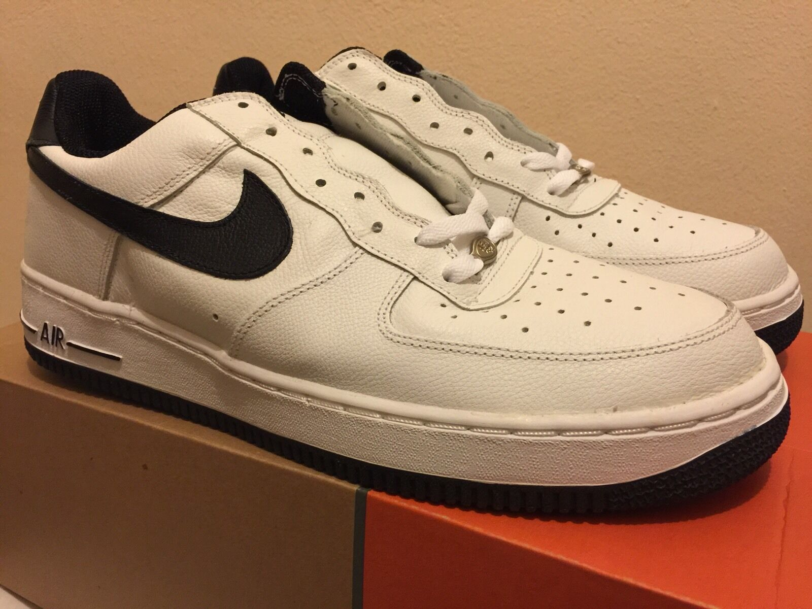 Nike Air Force 1B White / LE Black Size 12.5 2001 LE / DS NEW SUPREME VINTAGE dbbb37