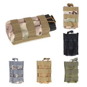 Outdoors-Nylon-Single-Magazine-Pouch-Open-Top-Mag-Holder-Military-Bag-5-56-223