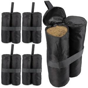 4x Garden Gazebo Sandbag Weights Leg Anchors For Market Stalls Tables Marquee