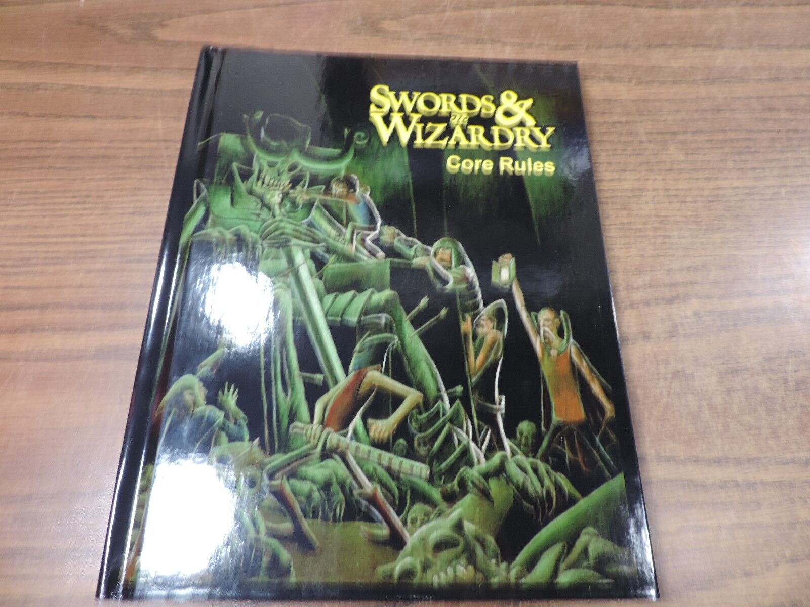 Mythmere Swords & Wizardry Swords & Wizardry (4th Printing) HC NM