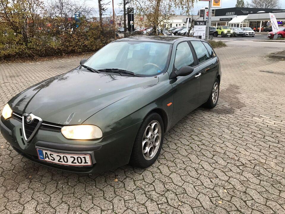 Alfa Romeo 156, 2,0 TS 16V Sportwagon, Benzin