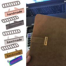 10Pcs Hang Metal Tags Labels Bag Handmade DIY DIY Zinc Alloy Letter Labe