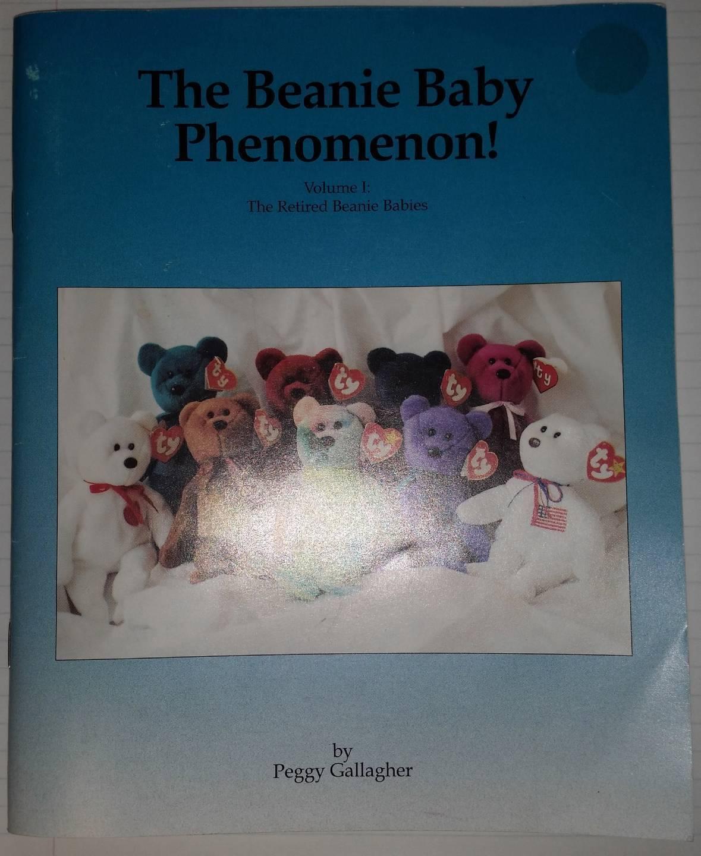 1997 ty THE BEANIE BABY PHENOMENON Retired Vol. 1 Catalog Guide Book