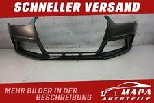 Audi A4 RS4 8K Facelift Bj. ab 2012 Stoßstange Vorne SRA PDC Orig. PUR Versand
